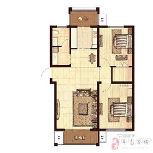 湖岸新城98平精装2室2厅现房出售