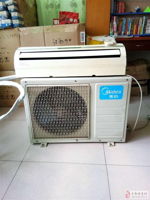 出售8成新美的大1P空调一台