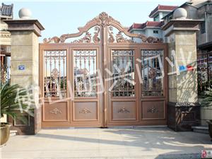 供应铝艺台门 铝艺大门 庭院门 别墅大门 包安装