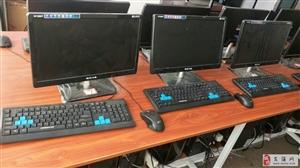 『出售』全新二手台式办公电脑i3处理器4G内存