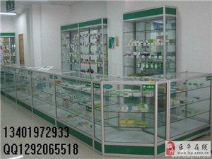 保健品药品玻璃组装货架转让