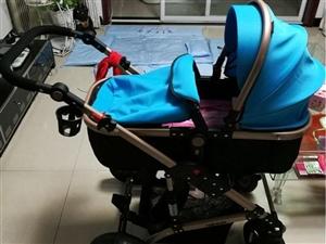 出售二手多功能婴儿车