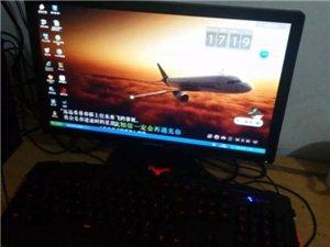 联想主机19寸显示器可以玩联盟cf