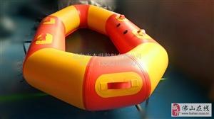 景区双人多人漂流船充气船
