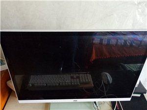 出售一台95成新27英寸游戏办公4k屏AOC一体机