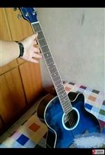 95新民谣吉他一架