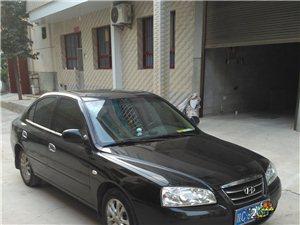 出售现代伊兰特黑色轿车