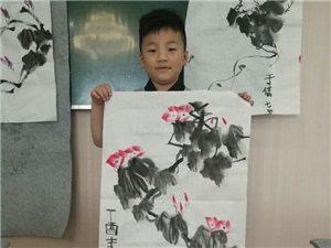 涡阳文化馆少儿书画艺术培训中