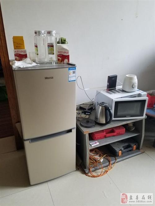 搬家處理全自動滾筒洗衣機奧瑪冰箱各一臺