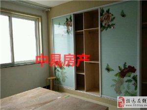 2436招远出售龙泉花园5楼85平米精装带家具家46万元