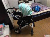 9成新婴儿车出售