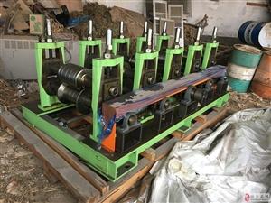 处理全新韩国产4组冷弯成型机