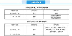 河北省2017年成人高考時間安排