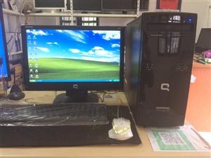 HP原装台式电脑显示器一套