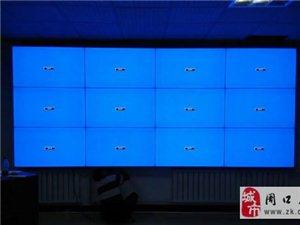 維康國際49寸拼接屏應用于安丘某派出所