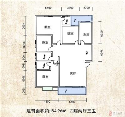 184.96�O,四室��d三�l
