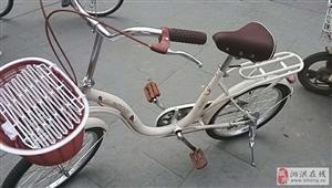 自行车是新车,由于是外地人,着急回家