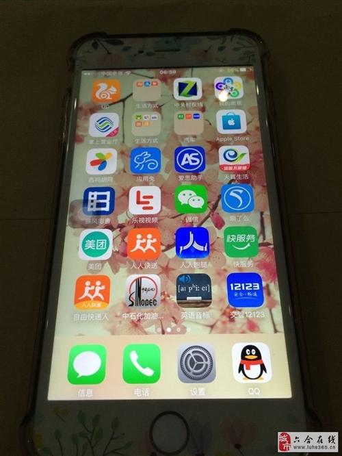 出售自用苹果6PLUS,64G