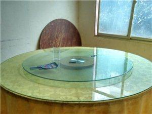 16人豪华玻璃大圆桌