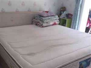 两面乳胶厚床垫 质量好 自取