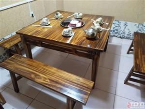 处理一直没用过的方桌带凳子圆桌不带椅子