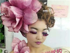 新曼化妝美甲紋繡連鎖學校(平輿校區)火熱報名中