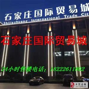 石家庄乐城・国际贸易城,旺铺,公寓现房发售