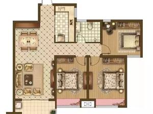 A1 三房两厅一卫 102�O