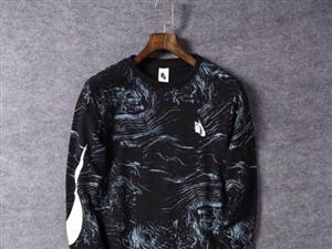 转让 越南生产 错版(也叫竖版)耐克男士压花卫衣