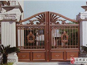 明兴门业  铝艺大门 庭院门 别墅大门 围墙大门