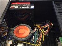 四核电脑游戏主机带2G华硕显卡英雄联盟欢迎测试