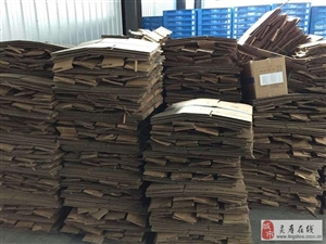 私司出售大量废纸箱
