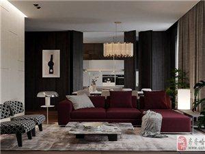 紅與黑——齊齊哈爾易居裝飾