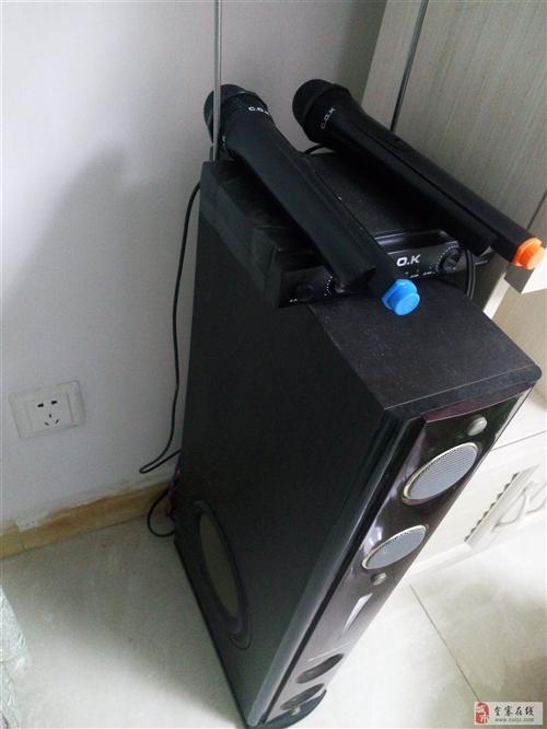 出售家用无线话筒接收机和音响