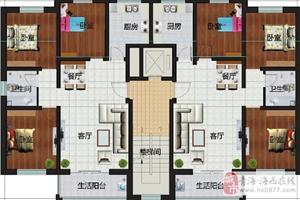 三室两厅一卫109平