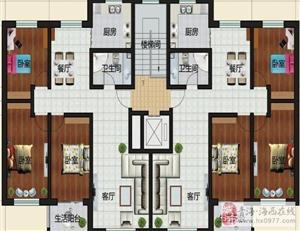 三室两厅一卫123平