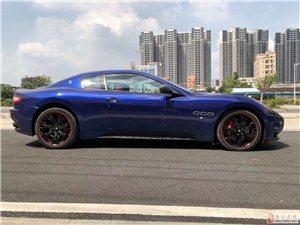 12玛莎拉蒂GTS4.7蓝色双色内