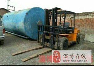 转让一台杭州六吨叉车一台