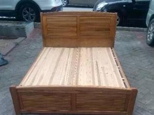1.5米纯橡木实木大床全套