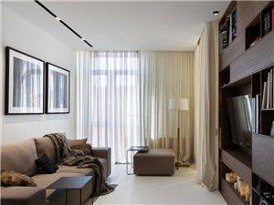 小戶型質感現代簡約風——齊齊哈爾易居裝飾