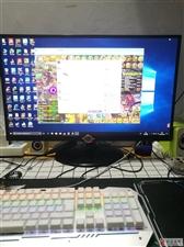 LG高清台式27村显示器,IPS屏