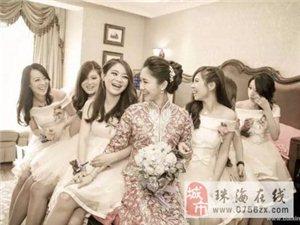 珠海婚礼跟拍 摄影、录像 婚礼微电影 即影即有
