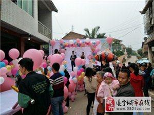 火烈鸟爱情户外婚礼地爆球,升空氦气球,幸福满满