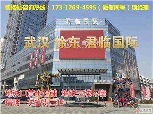 武汉地铁口旺铺武昌徐东华康君临国际均价5万火爆出售