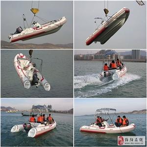 小型玻璃钢钓鱼船艇快艇橡皮艇