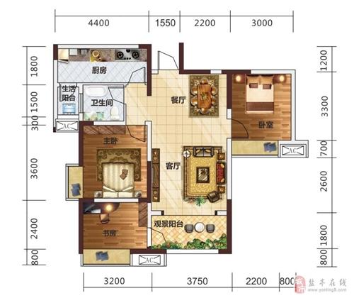 3室2厅1卫(高层)