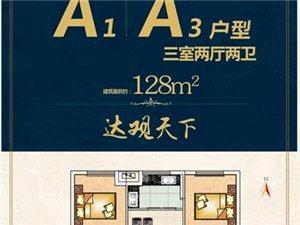 A1A3户型 三室两厅两卫