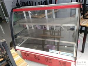 出售8成新冷藏展示柜两台