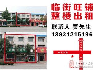 出租南环路临街旺铺,整楼出租13931215196