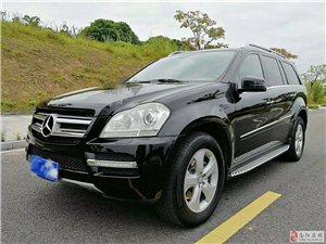 纯12年奔驰GL450,黑色米内18w